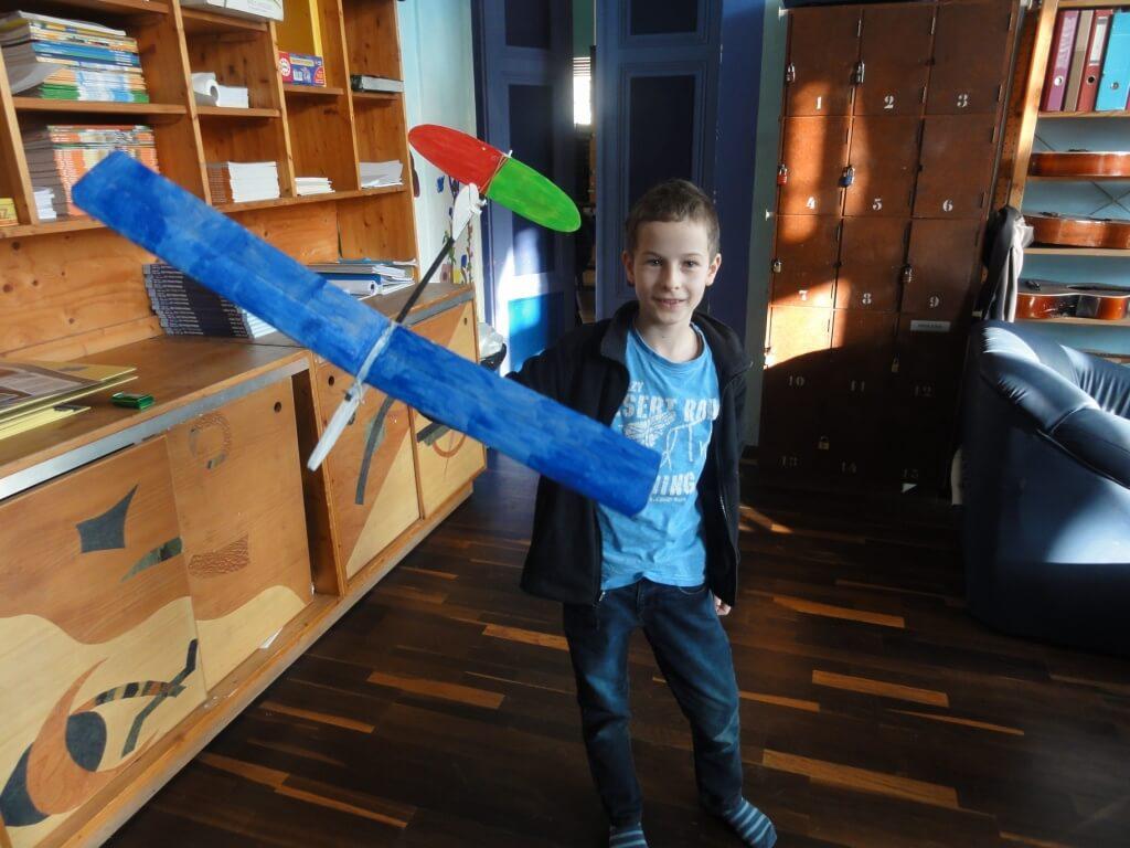 Modellflugzeug bauen11