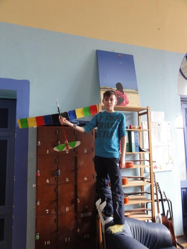 projekt modellflugzeug selber bauen war ein voller erfolg sch lerinnenschule. Black Bedroom Furniture Sets. Home Design Ideas