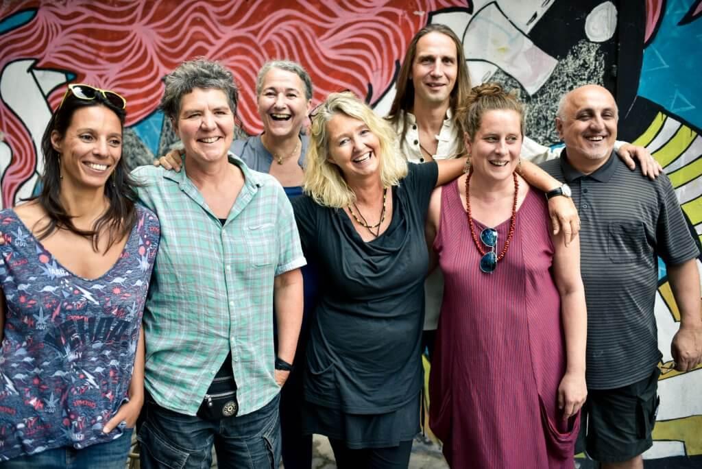 Gruppenfoto der LehrerInnen, 2016