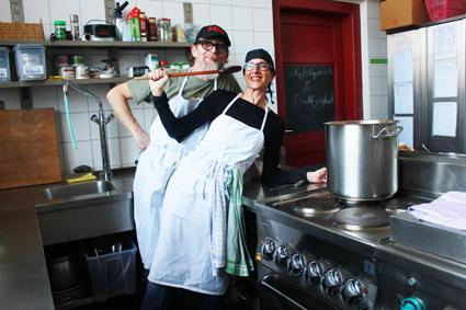 Kochen in der Schülerinnenschule - mit Profis ein Spaß!